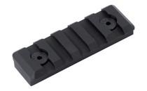 TIMBER CREEK OUTDOORS M-LOK 5-Slot Picatinny Rail (M 5S PR BL)