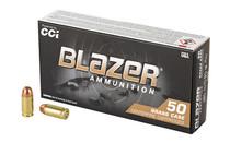 CCI Blazer 380ACP 95Gr 50Rd Box of Full Metal Jacket Ammunition (5202)