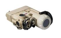 STEINER DBAL-D2 Civilian Dual Beam Aiming Laser IR Laser Green Laser and IR Illuminator Desert Sand (9002)
