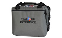 TGE 12 pack Charcoal Canvas Cooler