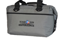 TGE 24 pack Charcoal Canvas Cooler