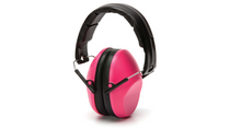 PYRAMEX Safety Products VG90 Series Foldaway Headband 22dB NRR Pink Ear Muff (VGPM9010PC)