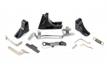 POLYMER80 9mm Glock Frame Parts Kit with Complete Trigger Assembly (P80-PFP-FKIT-BLK)