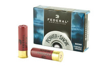 FEDERAL PowerShok 12 Gauge 3in 5rd Box of 15 Pellets 00 Buckshot (F13100)