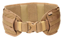 BLACKHAWK Coyote Tan Enhanced Patrol Belt Pad - Small (41PB00CT)