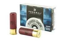 "FEDERAL PowerShok 12Ga 2.75"" 00 Buck 3 Dram 9 Pellet 5Rd Box of Shotgun Ammunition (H13200)"