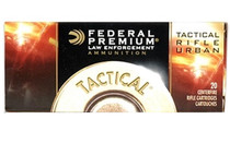 FEDERAL LE Tactical 20 Rd Box Soft Point Rifle Ammo