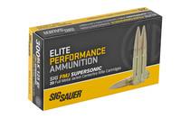 SIG SAUER Elite Ball 300 Blackout 125 Grain 20rd Box of Full Metal Jacket Centerfire Rifle Ammunition (E300B1-20)