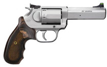 KIMBER K6S Target DASA Revolver .357 Mag 4 in Barrel 6rd Cylinder with Brushed Satin Finish and Checkered Walnut Grip Double-Single Action Revolver (3400032)