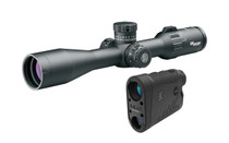 SIG SAUER Long Range Value Pack Includes Tango4 4-16x44 MRAD 30mm Tube MOA Milling Reticle and Kilo1800 BDX Rangefinder (SOT44114LRVP)