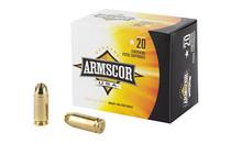 ARMSCOR 40 S&W 180 Grain 20 Rd Box Ammo