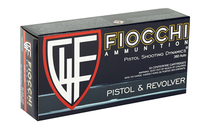FIOCCHI 380ACP 90 Grain Jacketed Hollow Point 50 Rd Box Centerfire Pistol Ammo