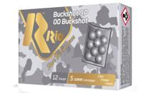 RIO AMMUNITION Royal Buck 12 Gauge 5rd Box of 2.75in 9 Pellets 00 Buck Shot Shotshell Ammunition (RB129)