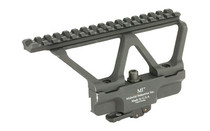 MIDWEST INDUSTRIES Quick Detach Modular Gen 2 AK Scope Mount Fits AK-47/74 (MI-AKSMG2-R)
