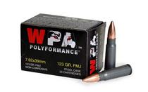 WOLF PERFORMANCE AMMO 7.62x39 122 Grain Bi-Metal FMJ Steel Case 20rd Box of Rifle Ammunition (762BFMJ)