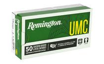 REMINGTON UMC 9mm 115Gr 50Rd Box of Full Metal Jacket Ammunition (23728)