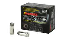 BARNES TAC-X PD 40 S&W 140 Grain 20rd Box of Lead Free Hollow Point Pistol Ammunition (21554)
