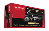 NORMA AMMUNITION Tactical 7.62x39mm 124 Grain 20rd Box of Full Metal Jacket Rifle Ammunition (299540020)