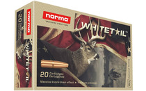 NORMA AMMUNITION Whitetail 300 Win Mag 150 Grain 20rd Box of Pointed Soft Point (PSP) Rifle Ammunition (20177412)