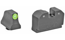 XS SIGHTS R3D Suppressor Hight Glock Tritium Night Sights (GL-R021P-6G)