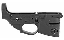 SPIKES TACTICAL Rare Breed Crusader 223Rem 556NATO Billet Aluminum CNC Machined Black Finish Stripped Lower Receiver (STLB600)