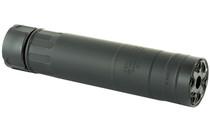 RUGGED SUPPRESSORS RAZOR762 Rated Up to 300Rem Ultra Magnum Black Cerakote Finish Suppressor (RZR01762)