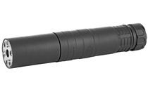 RUGGED RADIANT 762 7.62mm Rated to 300 Remington Ultra Magnum Modular Full Auto Rated Titanium and Stellite Black Suppressor (RAD01762)