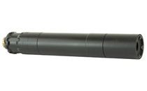 RUGGED SUPPRESORS OBSIDIAN 45 45ACP ADAPT Modular Technology 17-4 PH Baffles Black Cerakote Finish Pistol Suppressor (OBS0145)
