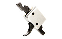CMC TRIGGERS Single Stage Curved Small Pin 2.5lb Black Match Trigger (90501)