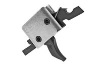 CMC TRIGGERS Single Stage Combat Curved 3.5lb Small Pin Black Match Trigger (91701)