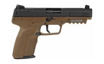 FN America Five-seveN Striker Fired Full Size Pistol 5.7x28mm 4.8in Barrel Polymer Frame Flat Dark Earth Finish Adjustable Sights  Ambidextrous Safety 20Rd 3 Magazines Semi-Auto Pistol (3868929350)