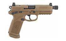 FN FNX-45 Tactical .45 ACP 5.3in Threaded Barrel 15 Rounds Fixed 3 Dot Night Sights MIL-STD-1913 Rail Ambidextrous FDE Semi Auto Handgun (66968)