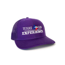 TGE Branded Purple Trucker Style Snap Back Hat (TGETRUCKP)