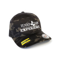 TGE Branded Multicam Black Small/Medium Flex Fit Hat (TGEFLXMCBKSM)