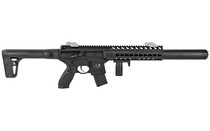 SIG SAUER MCX .177 Pellet 88 Gram Rugged Full Synthetic Stock 30rd Metal Housing Tactical Foregrip 750FPS Semi-automatic CO2 Air Rifle (AIR-MCX-177-88G-30-BLK)