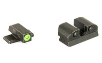 SIG SAUER X-Ray 3 Night Sight Set #8 Green Front #8 Round Rear Pistol Sights (SOX10004)