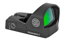 SIG SAUER Romeo1 1x30mm 3 MOA Red Dot 1 MOA Adjustments CR1632 Battery Mini Reflex Sight with Handgun Adapter Pack (SOR11005)