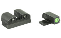 SIG SAUER X-Ray 3 Day/Night Sight Set #6 Green Front #8 Square Notch Rear Pistol Sights (SOX10001)
