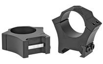 SIG SAUER Alpha Hunting 1in Steel Black High Scope Rings Set (SOA10008)