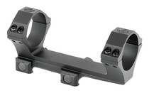 SIG SAUER Alpha 2 Picatinny Mount 34mm Diameter No Bias Integral Scope Ring For AR-15 Flat Tops One Piece Scope Mounting System (SOA20003)