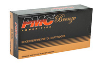 PMC Bronze 230 Grain Full Metal Jacket 50 Round Box of 45ACP Centerfire Ammunition (45A)