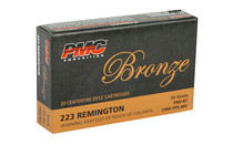 PMC Bronze 55 Grain Full Metal Jacket 20 Round Box of 223REM Centerfire Ammunition (223A)