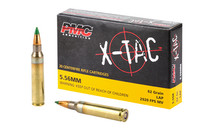 PMC XTAC 556NATO 62 Grain LAP 20 Round Box of Centerfire Ammunition (5.56K)