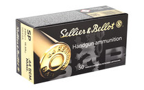 SELLIER AND BELLOT 240 Grain Soft Point 50 Round Box of 44MAG Pistol Ammo (SB44A)