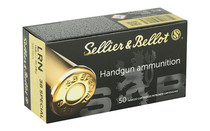 SELLIER AND BELLOT 158 Grain Lead Round Nose 50 Round Box of 38 Special Pistol Ammo (SB3006A)