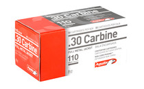 AGUILA 30 Carbine 110 Grain 50 Round Box of Full Metal Jacket Rifle Ammunition (1E302110)