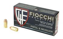 FIOCCHI 95 Grain Full Metal Jacket 50 Round Box of 380ACP Centerfire Pistol Ammunition (380AP)