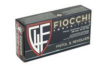 FIOCCHI 50 Rd Box Pistol Ammo