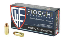 FIOCCHI 45ACP 230 Grain 50rd Box of Full Metal Jacket Centerfire Pistol Ammunition (45A500)