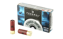 FEDERAL PowerShok 12 Gauge 2.75in 1oz 5 Round Box of Rifled Hollow Point Slug Shot Shell Ammunition (F127RS)